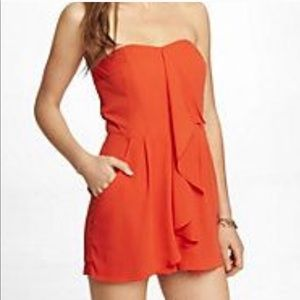 Express Orange romper size 4 - new with tags!